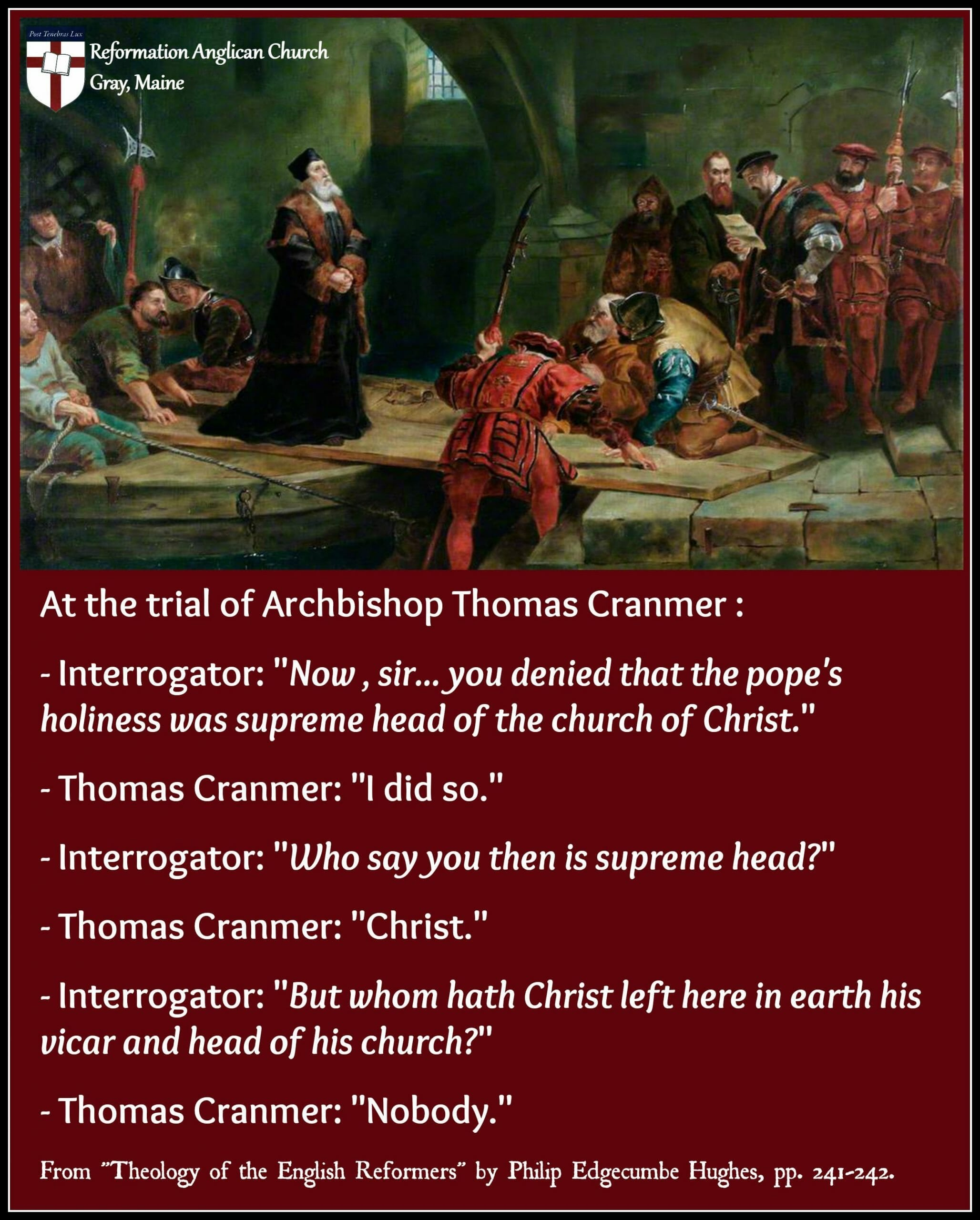 Cranmer's Trial