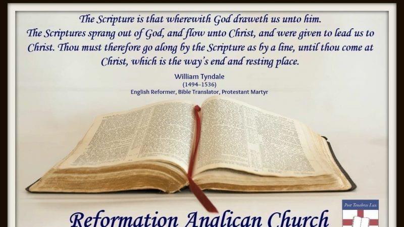 Tyndale quote